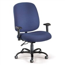 Big and Tall Mid-Back Confrence Chair with Arms