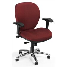 <strong>OFM</strong> ComfySeat Mid-Back Confrence Chair with Arms