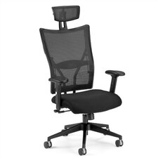 Ultimate High-Back Executive Chair with Arms