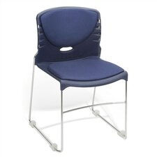 "18"" Plastic Classroom Armless Stack Chair"
