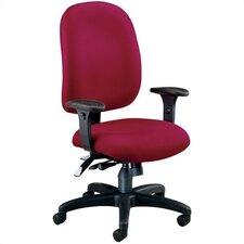 <strong>OFM</strong> Ergonomic Mid-Back Confrence Chair with Arms