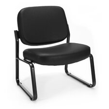 <strong>OFM</strong> Big and Tall Armless Vinyl Chair