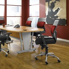 AirFlo Back Series Executive Chair with Brushed Metal Accents