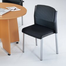 Europa Convertible Armless Stack Chair (Set of 4)