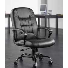 <strong>OFM</strong> Leather Back Big and Tall Office Chair with Arms