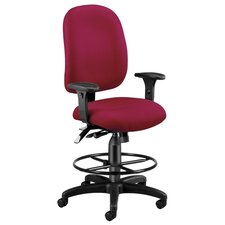 Ergonomic Executive Chair with Drafting Kit