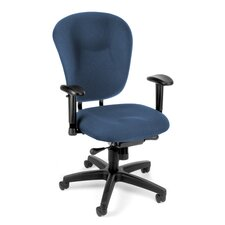 Conference Mid-Back Chair with Arms