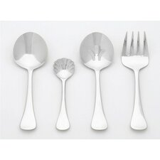 <strong>Ginkgo</strong> Stainless Steel Varberg 4 Piece Hostess Set