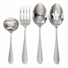 <strong>Ginkgo</strong> Stainless Steel Linden 4 Piece Hostess Set