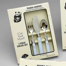 Panda Babies 3 Piece Childs Set