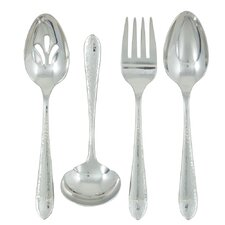 Stainless Steel Starlight 4 Piece Hostess Set