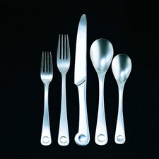 <strong>Ginkgo</strong> Pendulum 20 Piece Flatware Set