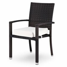 <strong>Source Outdoor</strong> Zen Dining Arm Chair with Cushion