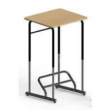 Stand-Biased Height Adjustable Classroom Desk (5th Grade - Higher Ed.)