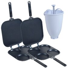 Perfect Pancake Maker with Batter Dispenser (Set of 2)