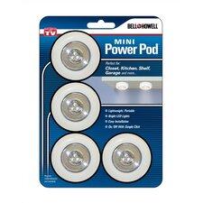 LED Under Cabinet Puck Light (Set of 4)