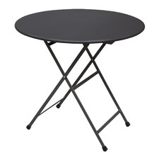 Arc En Ciel Round Steel Folding Dining Table