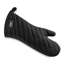 Barbecue Mitt in Black