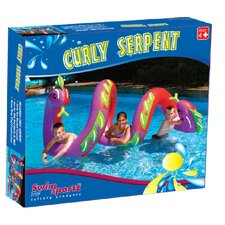 Curly Serpent Pool Toy