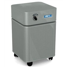 Pet Machine Air Purifier in Silver w/ Optional Replacement Filter