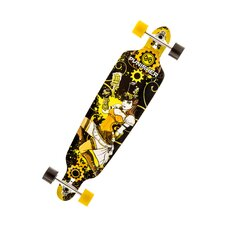 "Punisher SteamPunk 40"" Complete Skateboard"
