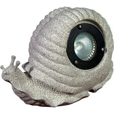 <strong>Dabmar Lighting</strong> 1 Light Snail Garden Accent Light