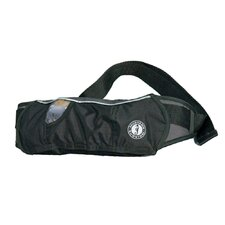 Inflatable Belt Pack PFD in Black / Carbon