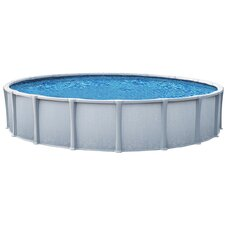 "Oval 54"" Deep Trinity Above Ground Pool Package"