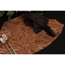 Timeless Paisley Table Linens Reversible Wedge Placemat (Set of 2)
