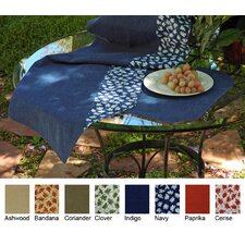 Denim Table Linen and Placemats Reversible Table Runner