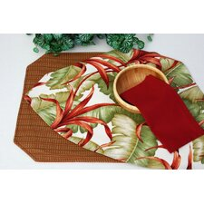 Outdoor Reversible Wedge Placemat (Set of 2)