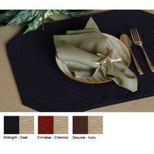Wicker Reversible Rectangle Placemat (Set of 2)