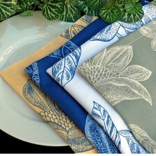 <strong>Pacific Table Linens</strong> Bouquet Cocktail Napkin (Set of 2)