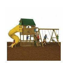 "132"" x 144"" Great Escape Swing Set"
