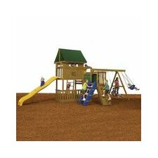 "132"" x 186"" Great Escape Swing Set"
