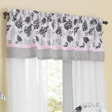 "Versailles Pink 54"" Window Curtain Valance"