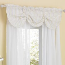 Zen Garden Window Curtain Valance