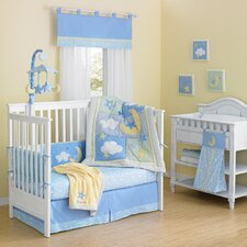 <strong>Laugh, Giggle & Smile</strong> Wish I May Quintessential Cotton quilted 10 Piece Crib Bedding Set
