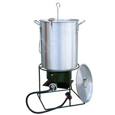 Outdoor Turkey Fryer with Single Burner