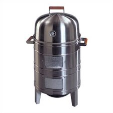 <strong>Meco</strong> Stainless Steel Charcoal Water Smoker with Grill