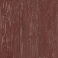 <strong>York Wallcoverings</strong> Welcome Home Cabin Boards Wallpaper