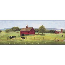 Welcome Home Good Pastures Border Wallpaper