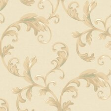 Heritage Home Promenade Scroll Wallpaper