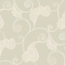 Elements Earthy Scroll Wallpaper
