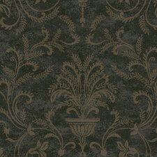 Heritage Home Neoclassic Damask Wallpaper