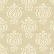 <strong>York Wallcoverings</strong> Elements Kindle Damask Wallpaper