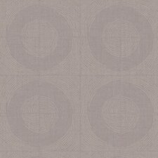 Jewel Box Orbit Polka Dot Wallpaper