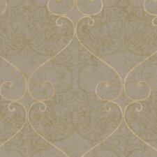 <strong>York Wallcoverings</strong> Natural Radiance Marceilles Damask Wallpaper