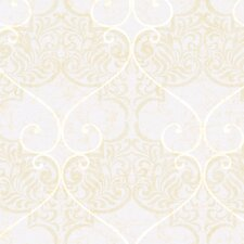 Natural Radiance Marceilles Damask Wallpaper