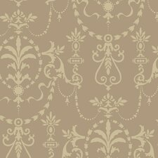 Riverside Park Bead Ornamental Stripes Wallpaper